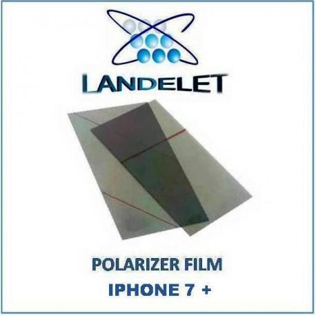 POLARIZER FILM IPHONE 7 PLUS PELLICOLA POLARIZZATA IPHONE 7 +
