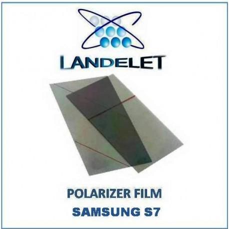 POLARIZER FILM SAMSUNG S7 PELLICOLA POLARIZZATA SAMSUNG S7