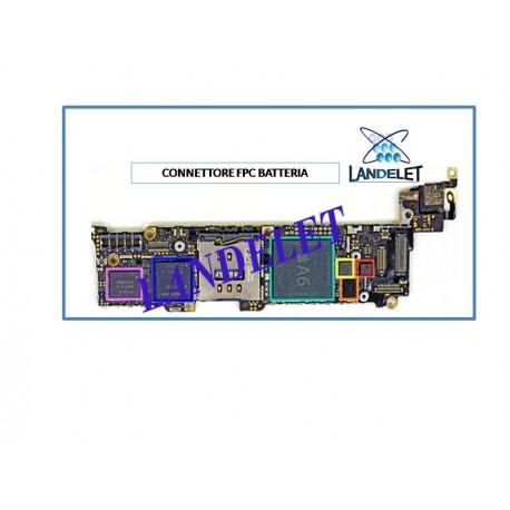 CONNETTORE BATTERIA IPHONE 5 FPC BATTERIA IPHONE 5