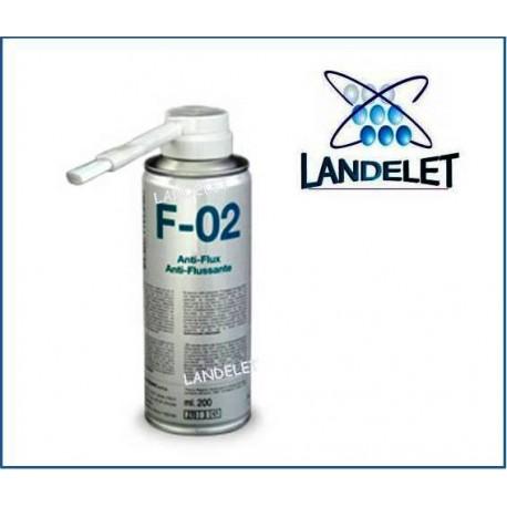 SPRAY ANTI FLUSSANTE F-02 DUE-CI 200 ml FLUX REMOVER F-02