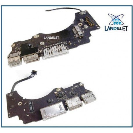 "Macbook Pro Retina 13 ""A1502 I/O Board 820-3539-A 820-3539-06 USB HDMI SD A1502"