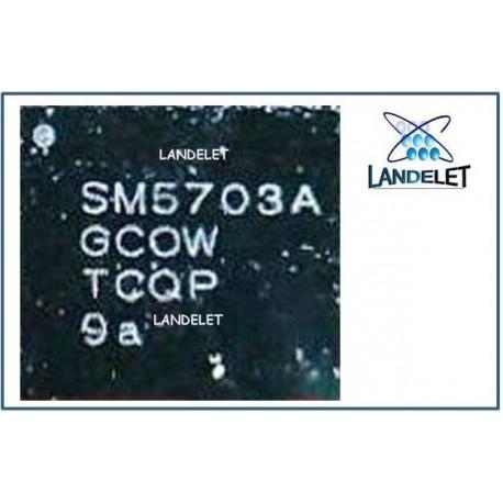 SM5703A SAMSUNG A8000 J700 J500 IC RICARICA SAMSUNG A8000 J700 J500 IC CHARGER