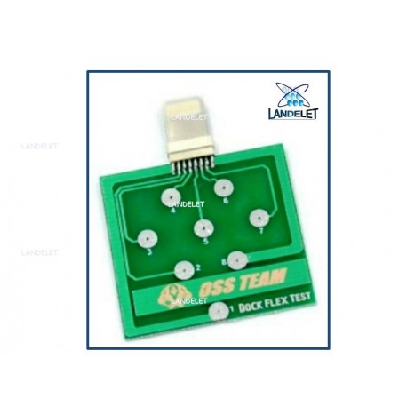 DOCK FLEX TEST IPHONE TEST PROVA TRISTAR U2 IPHONE 1610A3 CHARGING USB TEST