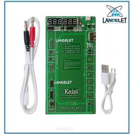 KAISI K-9208 TESTER ATTIVATORE BATTERIA K 9208 IPHONE IPAD SAMSUNG HUAWEI MI