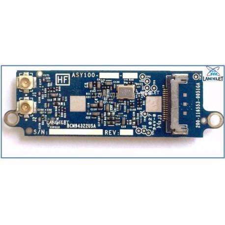 BCM94322USA WIFI BLUETOOTH MACBOOK PRO A1278 A1297 A1286 AIRPORT CARD 607-4144-A