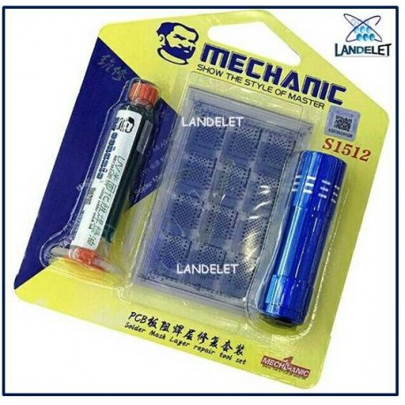 MECHANIC S1512 MECHANIC SOLDER MASK LAYER REPAIR S1512 NAND FLASH BASEBAND CPU