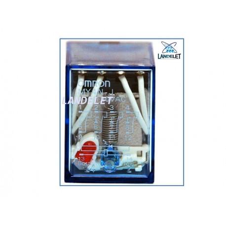 OMRON MY4N-J 5A 250VAC 28V 14 PIN IEC255