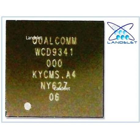 QUALCOMM WCD9341 IC AUDIO CODEC SAMSUNG S8 S8 EDGE S9 S9 EDGE NOTE 8