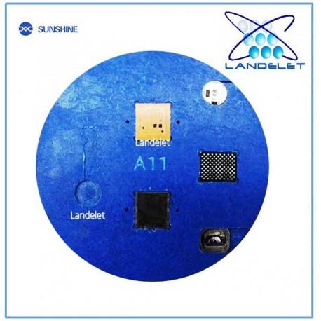 SUNSHINE SS-013A BASETTA MICROSCOPIO REBALLING IC TASTO HOME IPHONE 6S 7 7PLUS 8