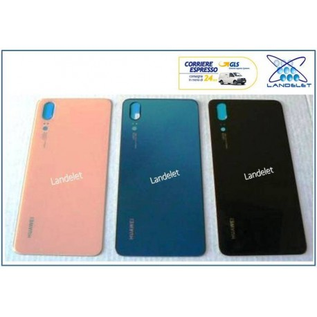 BACK COVER VETRO POSTERIORE HUAWEI P20 OEM