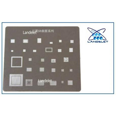 STENCIL REBALLING IC SAMSUNG A7 A5 A3 S5 J7 EXYNOS 3470 7580 7880 CPU A520 A310