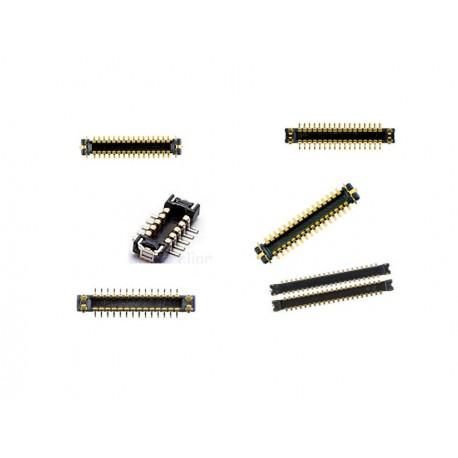 6 X CONNETTORE FPC ACCENSIONE TOUCH TELECAMERA LCD BATTERIA SENSORE IPHONE 5 5G