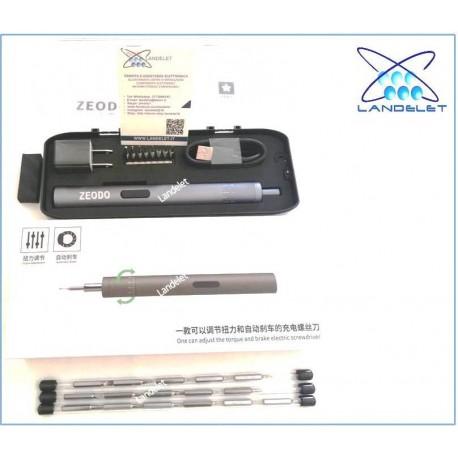 CACCIAVITE ELETTRICO SMARTPHONE TABLET PC OROLOGI ZEODO ELECTRIC SCREWDRIVER