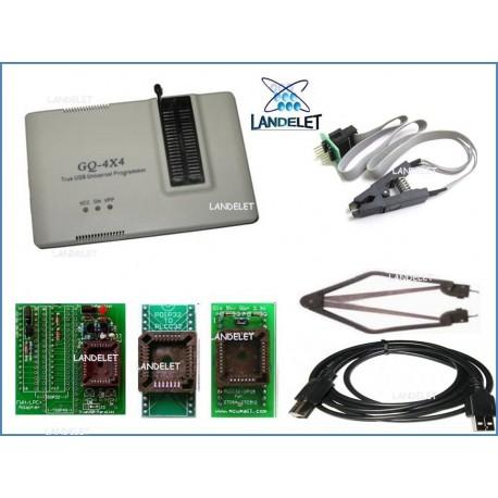 PROGRAMMATORE WILLEM GQ-4X FULL KIT MCUmall TRUE USB PRO GQ-4X EEPROM EPROM FLASH