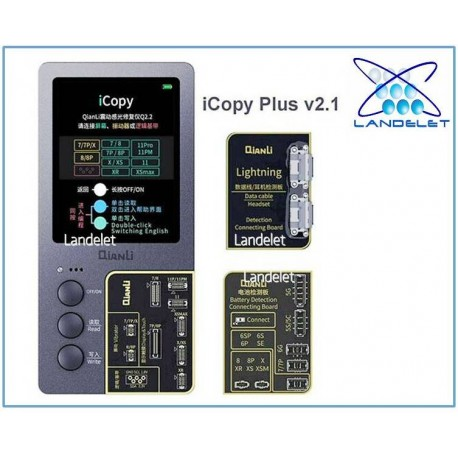 QIANLI ICOPY PLUS 2 IN 1 BATTERIA LCD