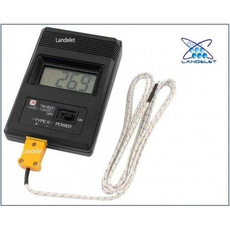 Tester Termocoppia Termometro TM 902C Sonda Tipo K