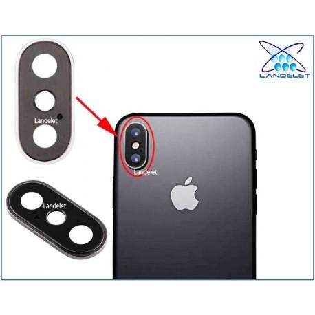 LENTE COMPLETA FOTOCAMERA IPHONE XS