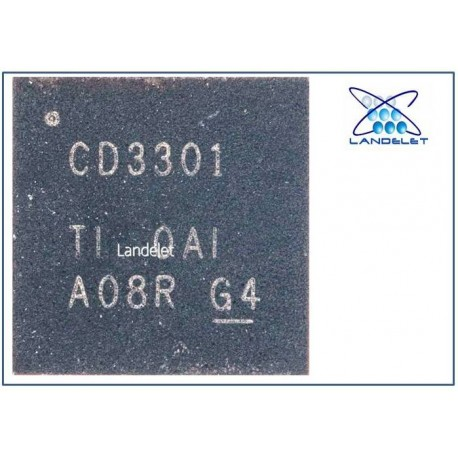 CD3301 QFN-36 IC POWER PER MACBOOK NOTEBOOK LAPTOP