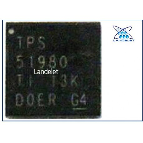 """TPS51980 REGOLATORE MACBOOK PRO AIR 13"""" A1466"""