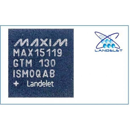 MAX15119GTM PWM REGOLATORE TENSIONE MAX15119 GTM PER MACBOOK PRO