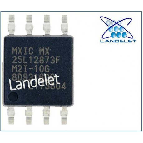 MXIC MX 25L12873F M2I-10G BIOS 16 MB 8 PIN MACBBOOK LAPTOP
