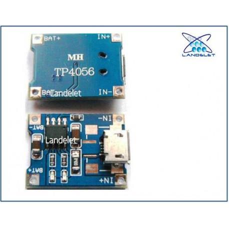 MODULO CARICABATTERIA TP4056 MICRO USB 5v 1a