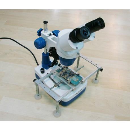Microscopio Binoculare AK21 con Stand Per Riparazione