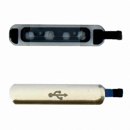 SPORTELLINO USB SAMSUNG GALAXY S5 I 9600 GOLD ORO