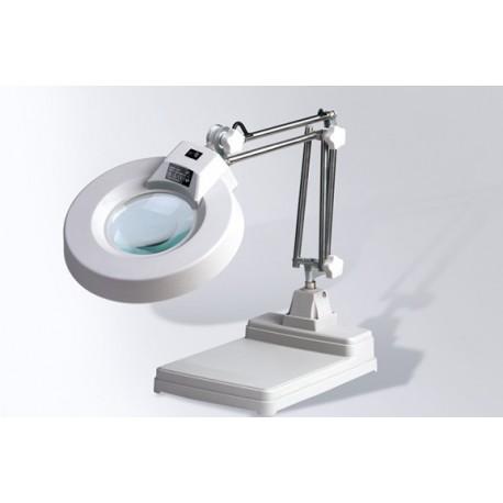 Lampada da tavolo laboratorio riparazioni fai da te con lente ingrandimento