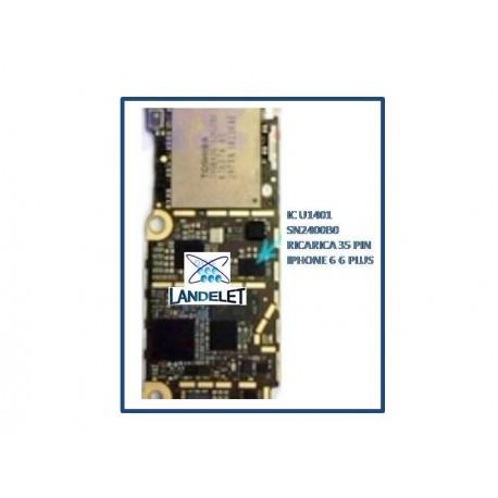 IC U1401 RICARICA IPHONE 6 6+ 6 PLUS IC SN2400B0 RICARICA IPHONE 6 6 + 6 PLUS