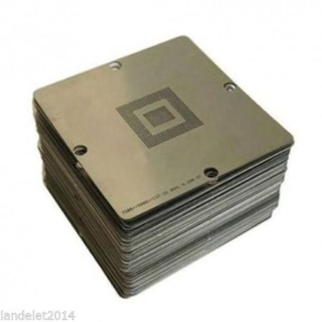 43 Stencil BGA ATI 90x90 Stencil Reballing BGA 90*90 AMD Stencil rework flux