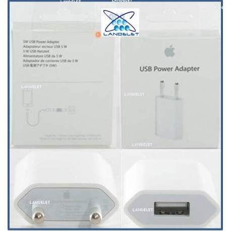 CARICABATTERIA IPHONE 5 5C 5S 6 6+ MD8132ZM/A A1400 PLUG RICARICA APPLE IPHONE
