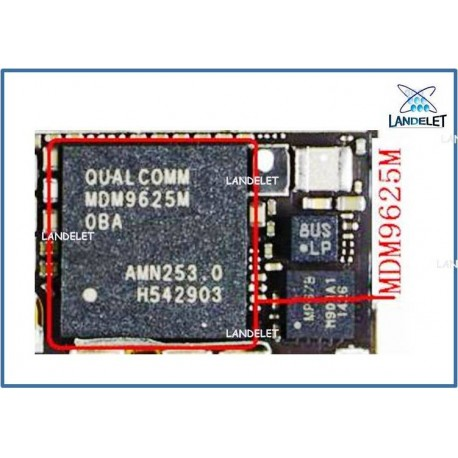 MDM9625M IPHONE 6 6 PLUS IC BASEBAND MODEM IPHONE 6 6 PLUS U_BB_RF IPHONE 6 6 +