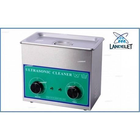 Vasca Ultrasuoni Vaschetta Lavaggio Ultrasuoni 3.2 LITRI 230HT + Cestello