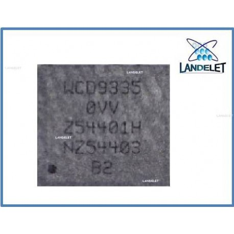 Ic WCD9335 SAMSUNG S7 S7 EDGE IC AUDIO SAMSUNG S7 S7 EDGE