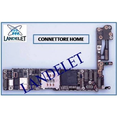 CONNETTORE HOME IPHONE 6 FPC HOME IPHONE 6