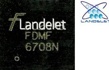 FDMF6708N CHIP QFN- 40 PER MACBOOK FDMF 6708N