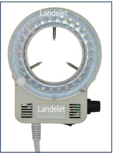 Lampada Led Per Microscopio ad anello regolabile