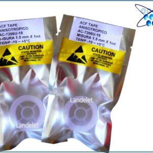 ACF AC-7206U-18 NASTRO ANISOTROPICO PELLICOLA CONDUTTIVA ACF 1.2 mm 1.5 mm X 1 mt