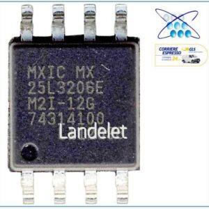 MACRONIX MXIC MX25L3206E M2I-12G MX 25L3206E FLASH MEMORIA MACBOOK LAPTOP