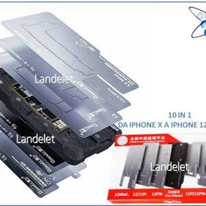 qianli basetta stencil reballing 10 in 1 layer frame iphone x max 11 12 pro